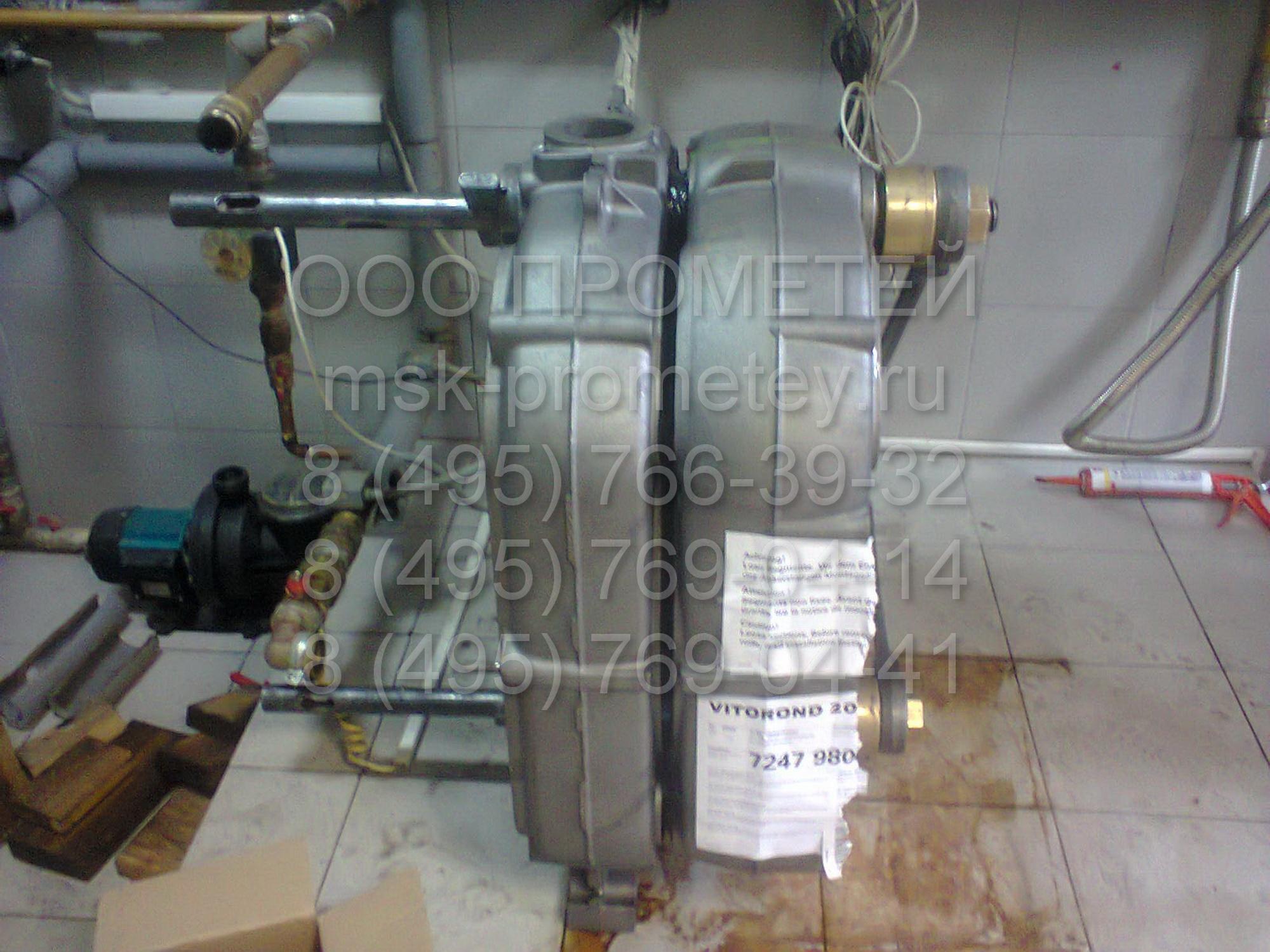 Теплообменник vitorond 200 схемы прочистки теплообменников