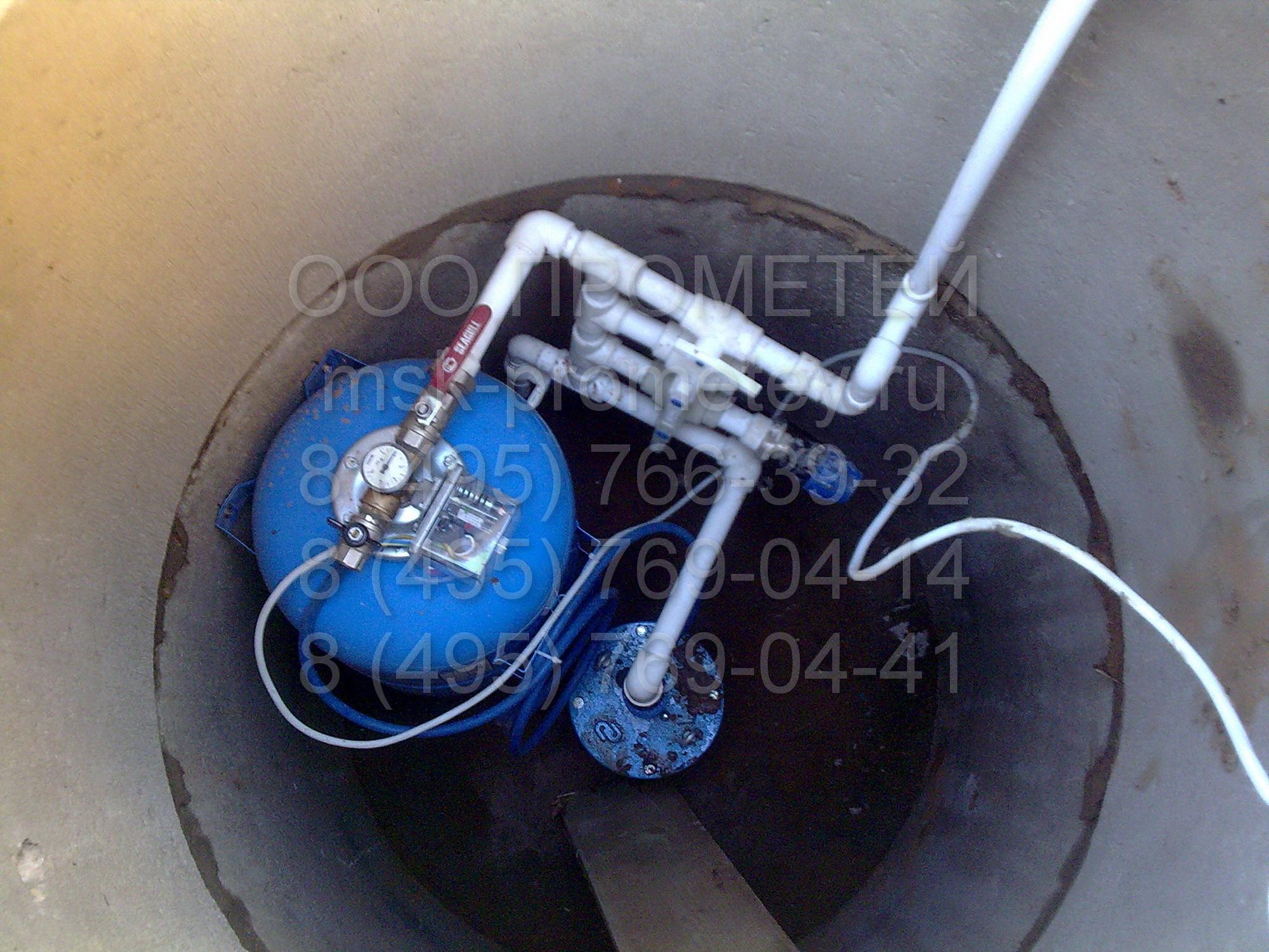 Автономное водоснабжение из скважины своими руками